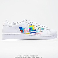 Adidas Originals Superstar simple shell head low-top sneakers shoes