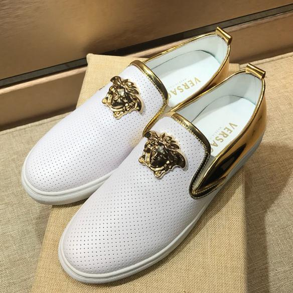 Image of Boys & Men Versace Fashion Casual Sneakers Sport Shoes