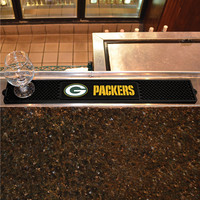 Green Bay Packers NFL Drink Mat (3.25in x 24in)