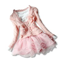 High quality Dresses Spring Autumn Clothes Children Dress Girls Dress