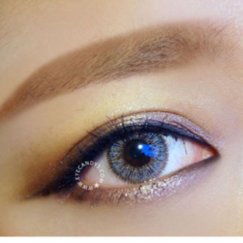 FREE SHIP ☆ NEO Cosmo Glamour Gray Circle Lens Color Contacts from EyeCandy's - Color Circle Lens