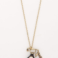 ModCloth Quirky Call on Me Necklace
