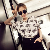 Summer New cat print clothes T-shirts for women tee shirt femme camisetas poleras de mujer tshirt female t shirts female tops