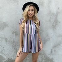 All Kinds of Fun Stripe Romper