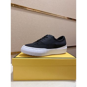 FENDI Men Fashion Boots fashionable Casual leather Breathable Sneakers Running Shoes07170em