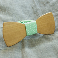 Wood Bow Tie - Wooden Bow Tie / Boys Bowtie. Unique Wood Bowtie. Wooden Bowtie - Mens Bow Tie. Hand Made - Personal Gift. Men Accessory