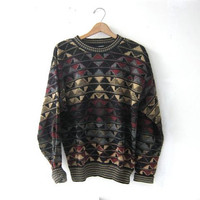 vintage oversized Bill Cosby Sweater Mens Size L