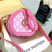 Louis Vuitton Lv Mini Women's Wild Round Cake Bag Shoulder Diagonal Bag