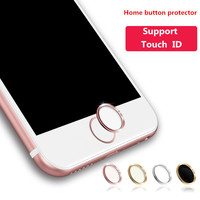 Polymer Material Touch ID button protector Sticker Home keypad keycap for IPhone 5s 6 6s Support Fingerprint Unlock Touch key ID