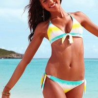 Tie-front Triangle Top