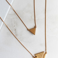 Straight Ahead Necklace