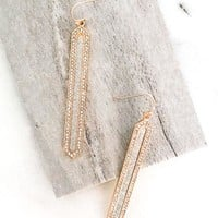 Glitzy Dangle Earrings