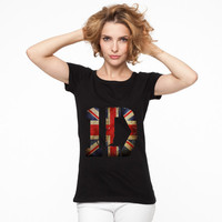 1D One Direction logo england T shirt Women and Men all Size