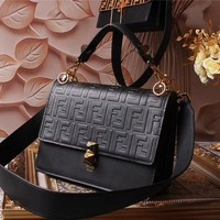 Fashion new season Fendi artycapucines monogram bags lconic bags top handles shoulder bag tote cross   body bags clutches evening exotic leather bags TRAVEL