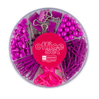 Candy Colors Office Set Raspberry
