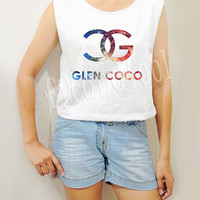 Galaxy Glen Coco Shirts Mean Girls Shirts Text Shirts Women TShirts Crop Top Crop TShirts Tank Top Women Tunic Top Women Shirts - Size S M L