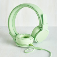 Dorm Decor Embrace The Music Headphones in Mint by Urbanears from ModCloth