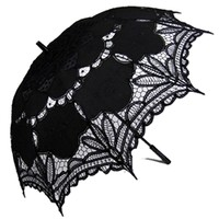 Lace Parasol Black Sun Parasols and Umbrellas