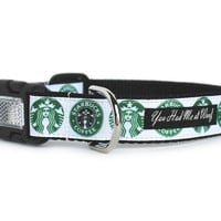 Starbucks Dog Collar