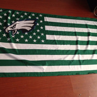3ft x5ft flag NFL Philadelphia Eagles flag polyester Hand flag