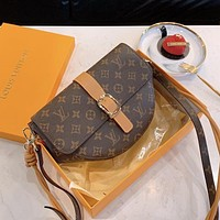 Louis Vuitton LV semicircle bag fashion trend shoulder bag