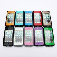 New Comparable to Lifeproof Waterproof Shockproof and Dirtproof Case for Iphone 5 Lifeproof Case Black