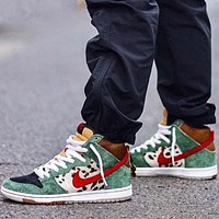 Nike SB Dunk Dog Walker men's and women's high-top skate shoes