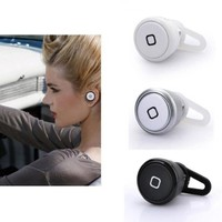 Change New World Smallest Bluetooth Headset Earphone for Cell Phone Iphone Samsung HTC (Black)