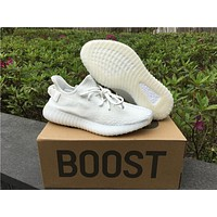 Adidas Yeezy 350 Boost V2 Cream White 36-46