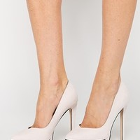 ASOS P.S. I LOVE YOU Pointed Platforms
