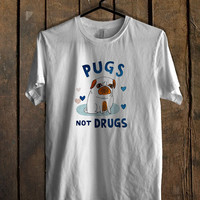 Pugs Not Drugs T Shirt Mens T Shirt and Womens T Shirt *