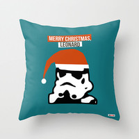 Star Wars throw pillow - Personalized christmas gift - Christmas pillow cover - christmas gift ideas -Funny Gifts for him -boyfriend- Decor
