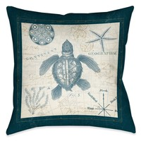 Ocean Life VI Indoor Decorative Pillow