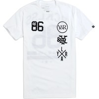 Young & Reckless Jerzmatic T-Shirt - Mens Tee - White