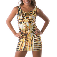 Mummy print women going out dresses