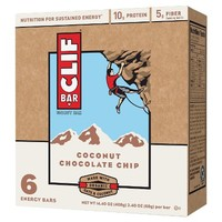 Clif Bar® Coconut Chocolate Chip Energy Bars - 6 Count
