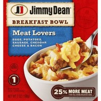 Walmart: Jimmy Dean Meat Lovers Breakfast Bowl, 7 oz