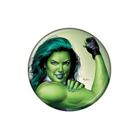 She-Hulk We Can Do It Button