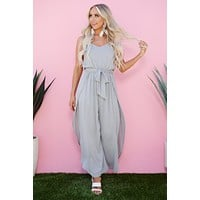 Ready Set Flow Jumpsuit (Grey)
