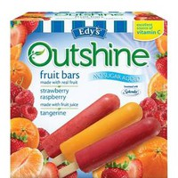 Outshine Strawberry, Raspberry, Tangerine Fruit Bar 12 ct