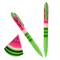 Snifty Scented Pen Watermelon : SNIFTY Scented Pens - fun party favors for kids : Stubby Pencil Studio