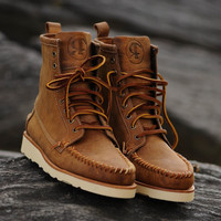 Ronnie Fieg for Sebago Thomas Boot - Tan | 7 Boots | Ronnie Fieg x Sebago