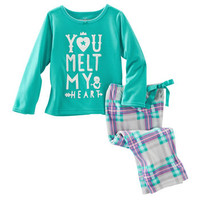 2-Piece Jersey & Fleece PJs
