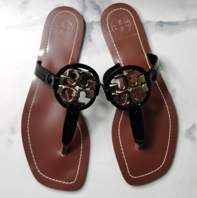 Image of TORY BURCH[tb] New style square slippers