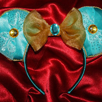 Princess Jasmine Inspired Mouse Ears Headband