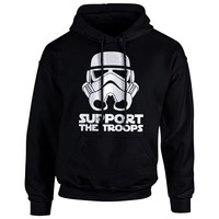 Support the Troops Stormtrooper Hoodie Sweatshirt
