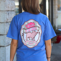 Made in the South Tee by SOUTHERN TREND {Flo Blue}