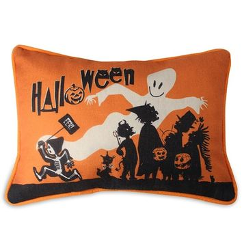 Eek Halloween Accent Pillow