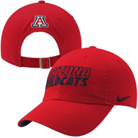 Nike Arizona Wildcats Dri-FIT Heritage 86 Campus Adjustable Performance Hat - Red