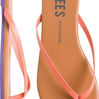 TKEES POP COLORS SKINNY STRAP SANDAL